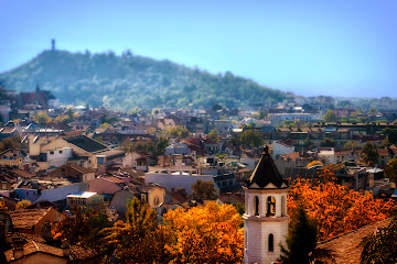 Plovdiv Bulgaria View from the Old town