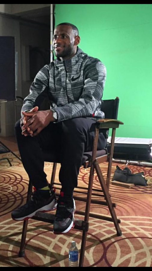 ... LeBron James Offers the Very First Look at Nike LeBron 13 Low 6bfedf8a3728b
