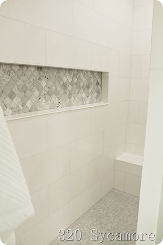 master shower tile design