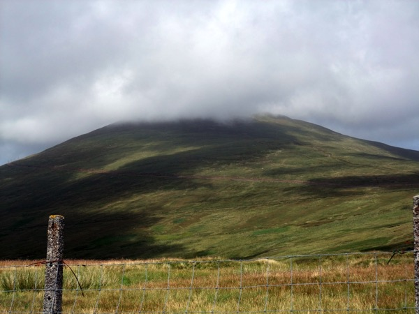 Snaefell Cloud Rolling in