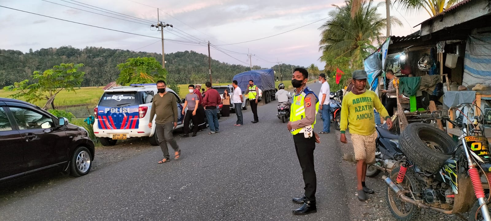 Kasat Lantas Polres Soppeng Pimpin Operasi di Daerah Rawan Pelanggaran dan Kecelakaan