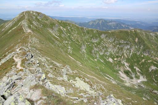 Hrubý vrch z juhu