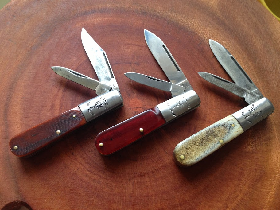 Boker Barlow bolster tree stamp differences, advanced ...