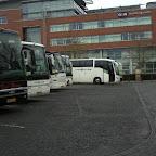 bussen op het station van den bosch