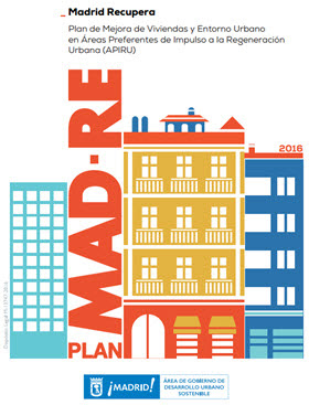 Plan MAD-Re (Madrid Recupera) en dos edificios de Manoteras