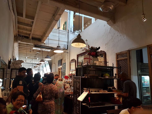 China House, a popular cafe in Georgetown Penang