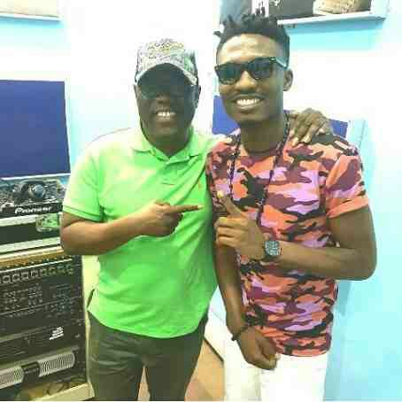 Check Out Efe's Look To Raypower As He Meets With Kenny Ogungbe (Photos)