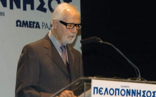 Πέθανε ο επί 24 χρόνια εκδότης της ημερήσιας εφημερίδας «Πελοπόννησος», Σπύρος Δούκας