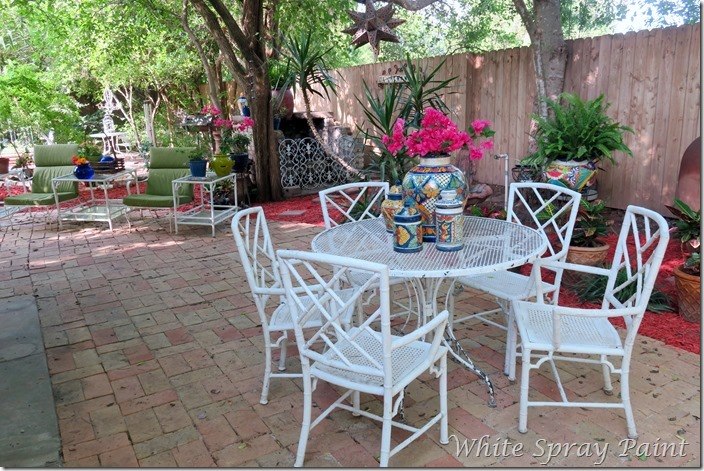 Garden Party 2016 Side Patio 2