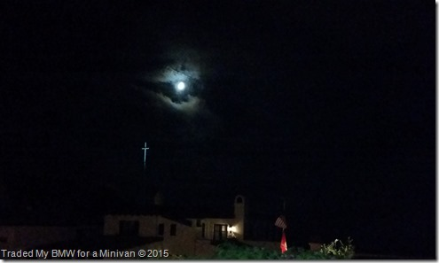 Church Flag Moon
