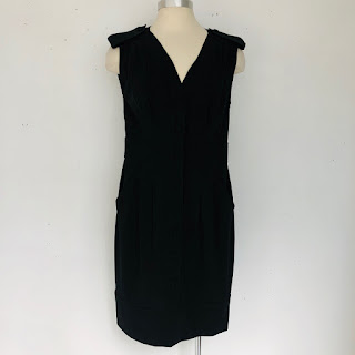 Fendi Sleeveless Black Shirtdress