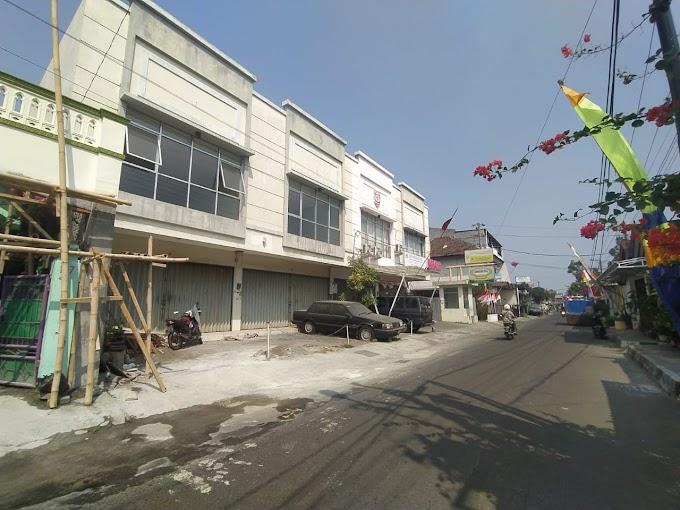 Ruko Ruang Usaha 2 Lantai strategis Tengah Kota Pinggir Jalan Seputar Brigjen Katamso Kodya