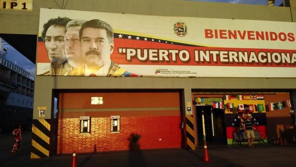 Bolivar Chavez and Maduro