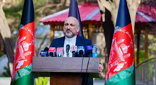 Afghanistan Foreign Minister Mohammad Haneef Atmar