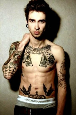 2K2BT Clothing39s Eye Candy Special Men with Tattoos