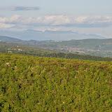 Panorama depuis les Hautes-Courennes. Saint-Martin-de-Castillon (Vaucluse), 7 mai 2014. Photo : J.-M. Gayman