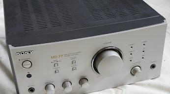 SONY DHC-MD77のアンプ