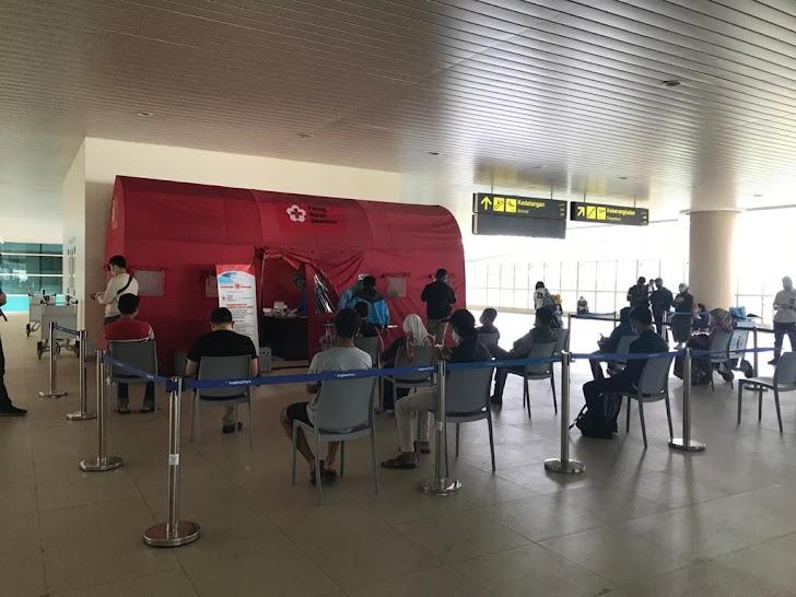 Layanan Rapid Antigen Bandara YIA Batasi 300 Orang Perhari