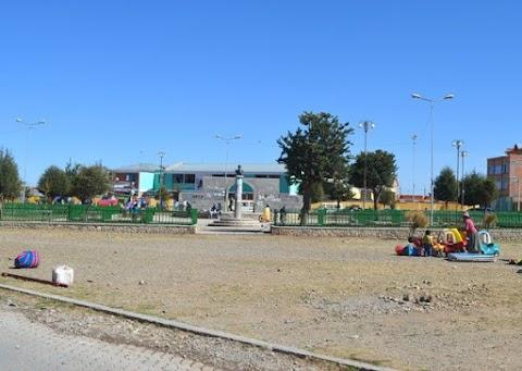 Juana Azurduy de Padilla (1992): zona del distrito 4 de El Alto