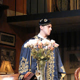 Bryant Williams in THE ROYAL FAMILY (R) - December 2011.  Property of The Schenectady Civic Players Theater Archive.