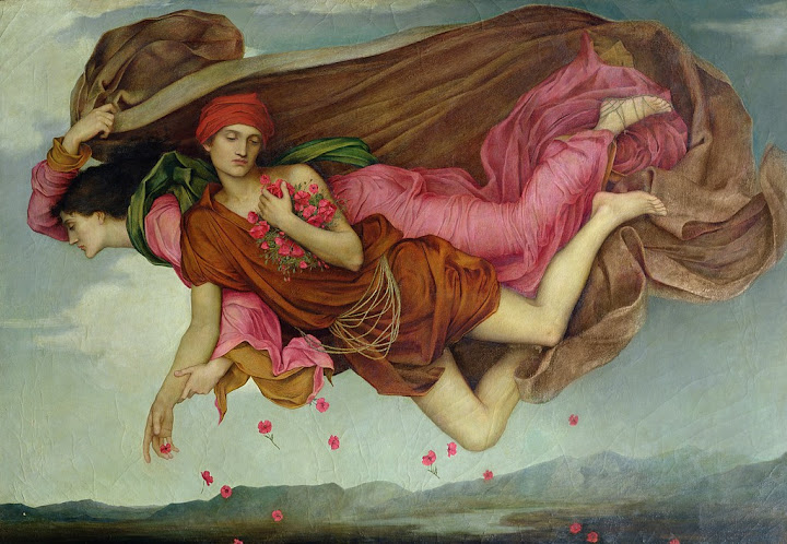 Evelyn De Morgan - Sleeping Earth, Waking Moon