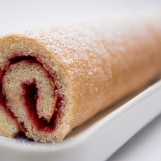 Rolled Raspberry Cake