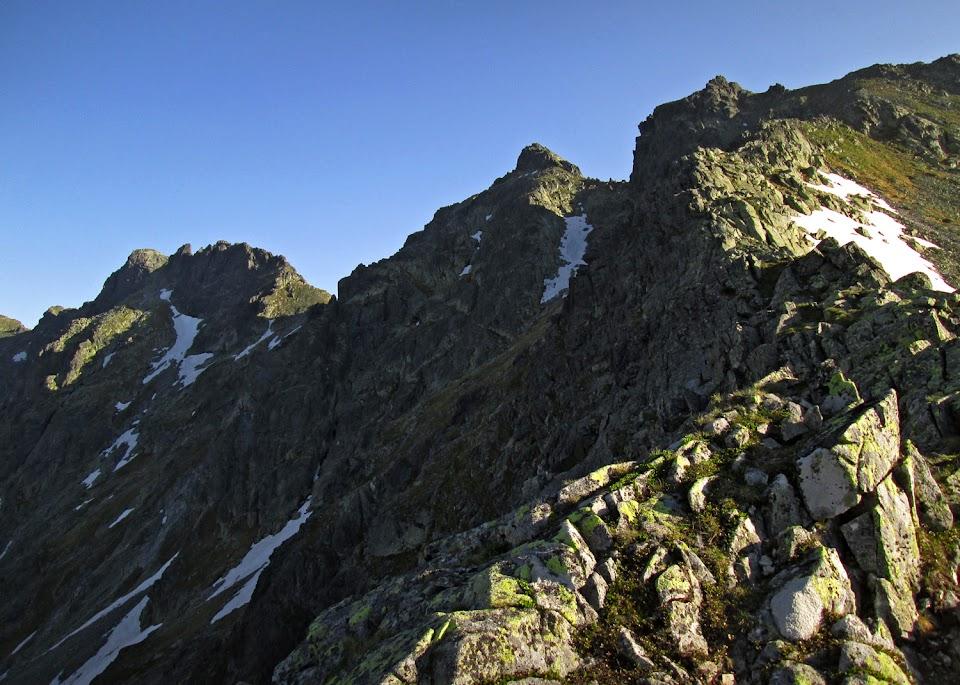 Widok z Wołowcowej Przełęczy