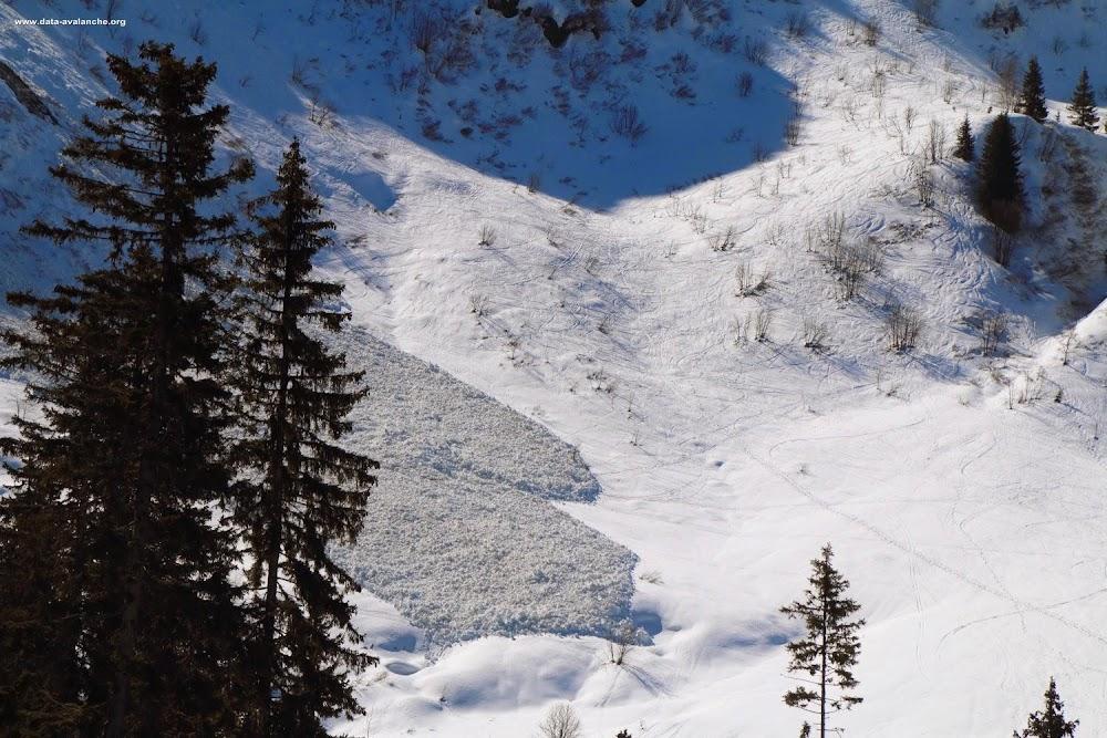 Avalanche Beaufortain, secteur Montagne d'Outray - Nazeaux, Face Ouest - Photo 1
