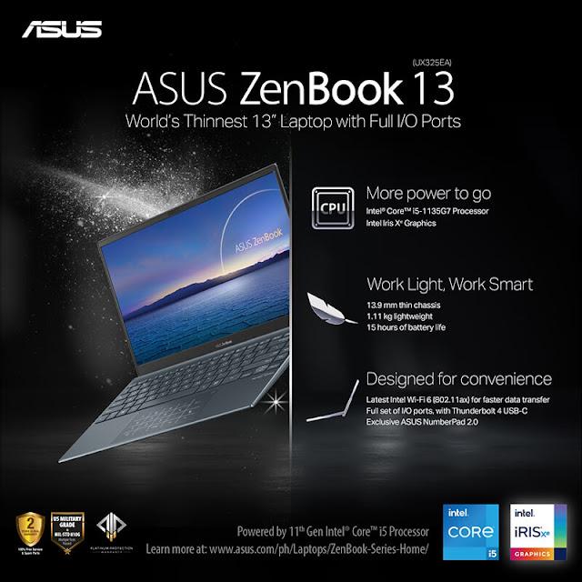 Patty Villegas - The Lifestyle Wanderer - ASUS - 11th Gen - Intel - Laptops - Zenbook 13
