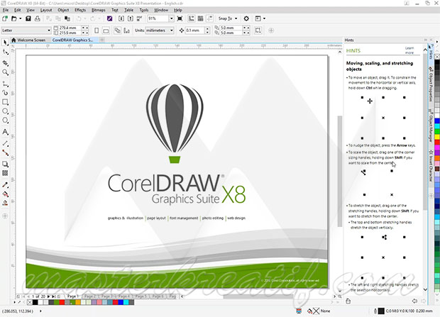 Coreldraw X8 For Windows 7 Professional Graphic Design Software