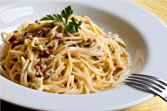 Espaguete-a-Carbonara