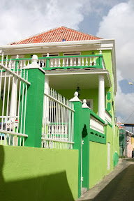 Colourful house, Willemstad, Curaçao