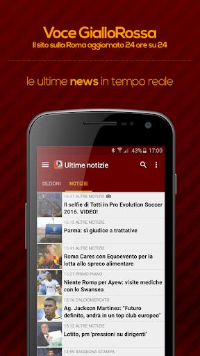 Voce GialloRossa - Roma 3.9.2 screenshots 1