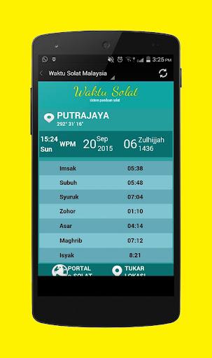Waktu Solat Malaysia