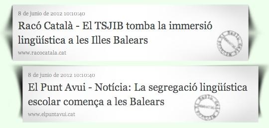 Font: Racó Català i El Punt Avui