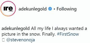 Singer Adekunle Gold fulfills His long time dream