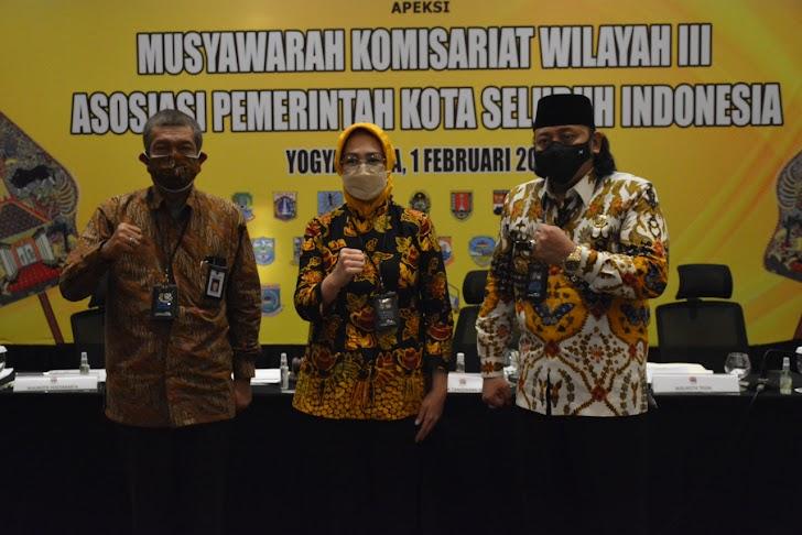 Dana Kelurahan dan Penanganan Covid-19 Dibahas Intens Asosiasi Pemerintah Kota Seluruh Indonesia
