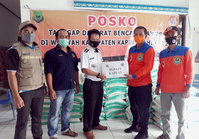 BPBD Kapuas Salurkan Bantuan Korban Terdampak Banjir 6 Kecamatan