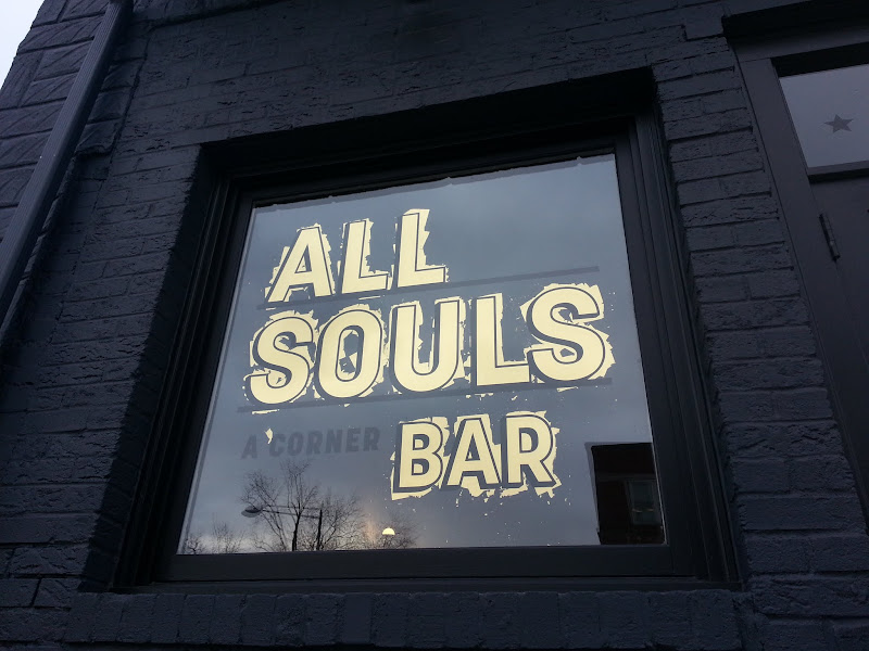gold leaf washington dc - all souls bar in progress