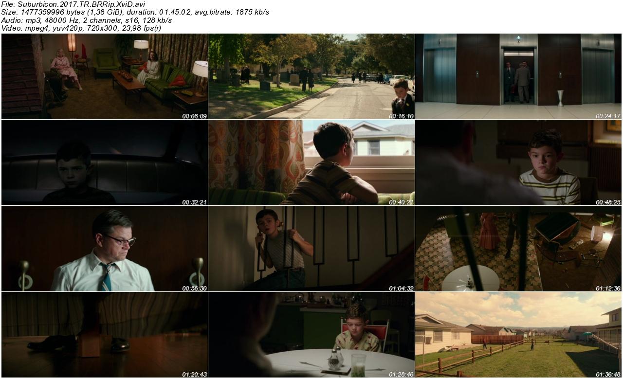 Suburbicon 2017 - 1080p 720p 480p - Türkçe Dublaj Tek Link indir