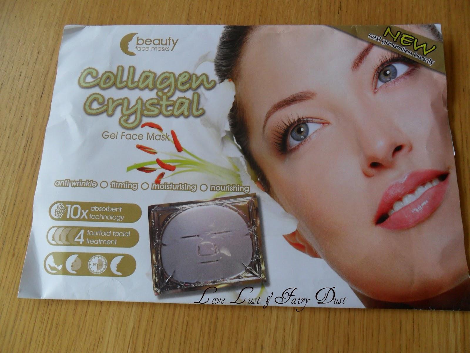 Collagen Crystal Gel Face Mask
