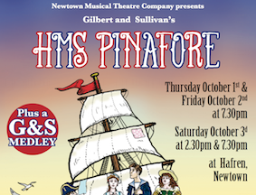 Theatre company launches HMS Pinafore tonight