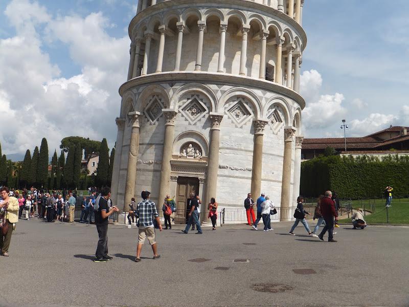 Día en Pisa, Piazza dei Miracoli, Italia, Toscana