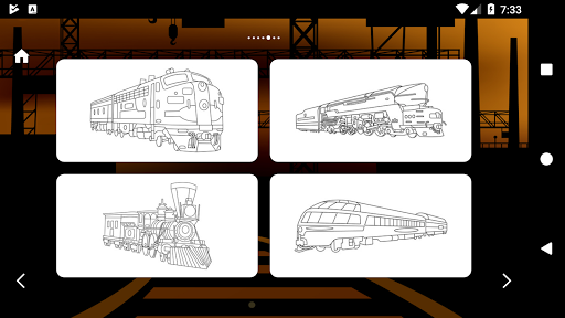 Trains Game Coloring Book 1.7 screenshots 5