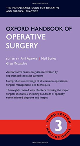 Oxford Handbook of Operative Surgery 3rd edition pdf free download