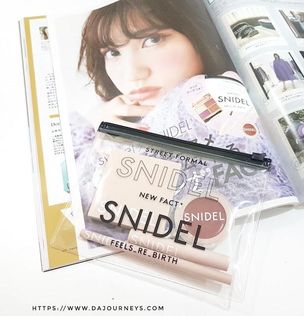 Review Snidel Japan Makeup Set