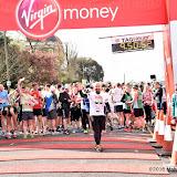 OIC - ENTSIMAGES.COM - Marathon runners at the  Virgin Money London Marathon on Blackheath in London, England. 24th April 2016 Photo Mobis Photos/OIC 0203 174 1069