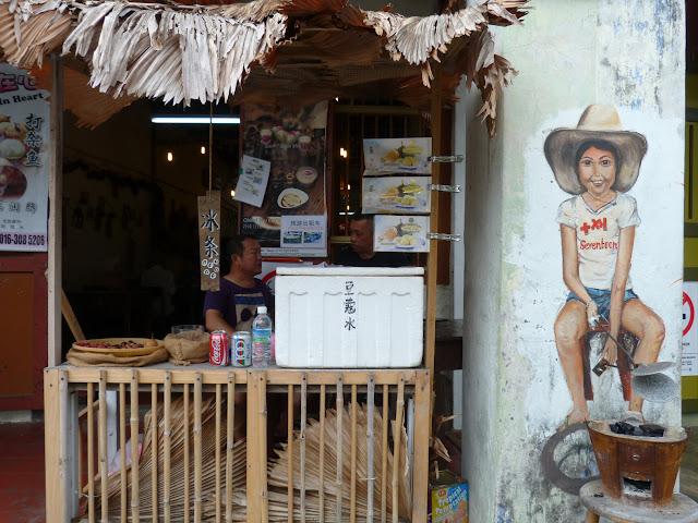 street art, penang