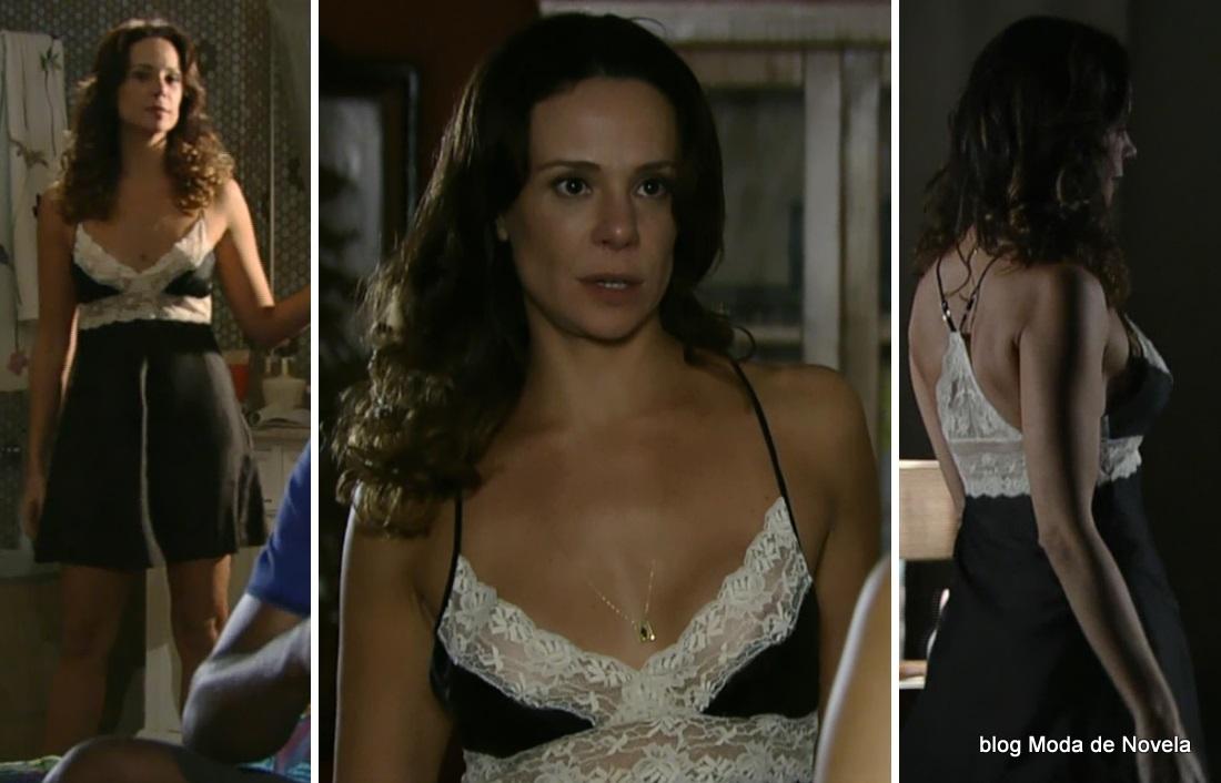 look da Juliana na novela Em Família