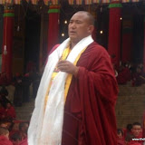 Massive religious gathering and enthronement of Dalai Lama's portrait in Lithang, Tibet. - l41.JPG
